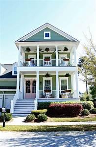 Sherwin Williams Charleston Green & Rachel Pink Front Door ...