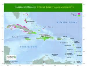 Caribbean Islands Region Map