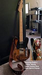 Telecaster Project 4 Way Wiring Custom Shop Texas Special