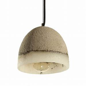 Brinley home stonework hard wired inch cement pendant