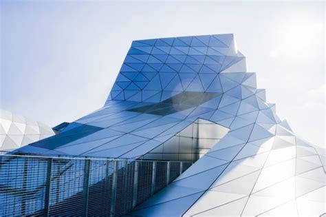 picture futuristic design building glass architecture