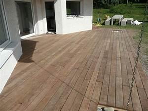 Terrasse Bois Exotique : terrasse bois exotique pas cher ~ Melissatoandfro.com Idées de Décoration