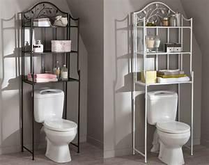 Meuble Rangement Toilette : daliux petit meuble pour wc inspirations avec meuble de rangement toilettes des photos alfarami ~ Teatrodelosmanantiales.com Idées de Décoration