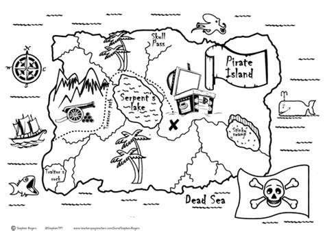 pirate treasure map teaching resources