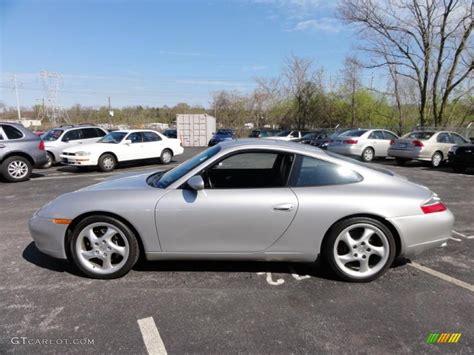 silver porsche carrera arctic silver metallic 1999 porsche 911 carrera coupe