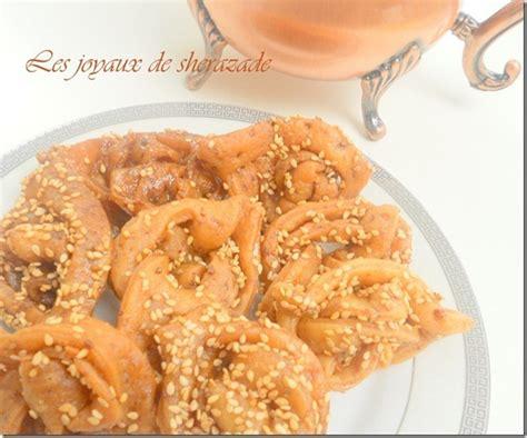 recette de cuisine samira chebakiya griwech marocain les joyaux de sherazade