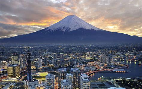 yokohama mountain fuji city tokyo japan
