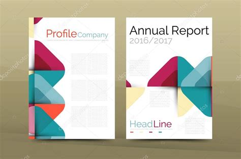 Company St Template by Business Company Profile Brochure Template Stock Vector