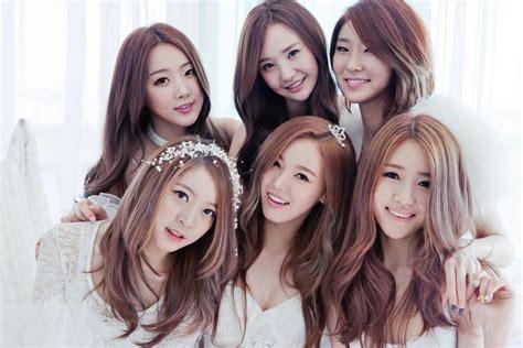 dal shabet pop korean bands craze stellar