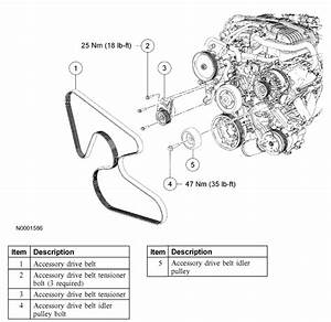 2005 Ford Freestar Serpentine Belt Replacement