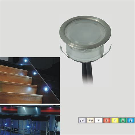 7colors outdoor rgb decking lights 12 volt recessed led