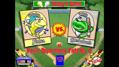 Backyard Baseball 1997 by Let S Play Backyard Baseball 1997 Season 8 Mighty