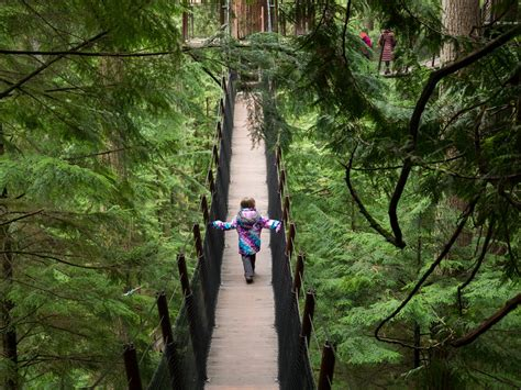 Visiting The Capilano Suspension Bridge Park In North