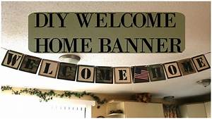 Diy Welcome Home Banner | www.pixshark.com - Images ...