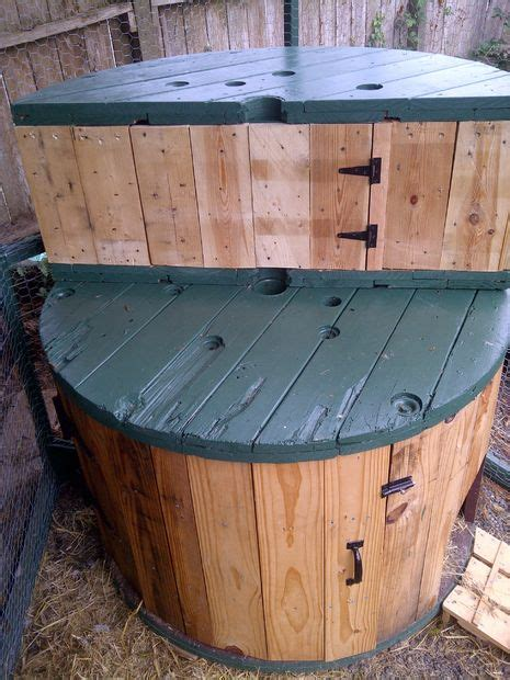 large wooden spools used for tables cable spool bench with storage