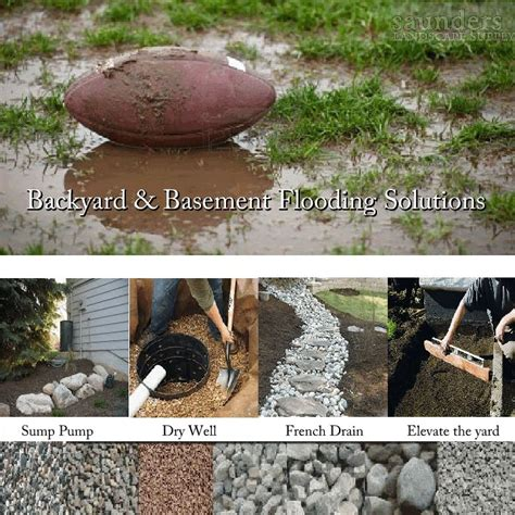 diy backyard drainage solutions french drain supplies landscaping pinterest