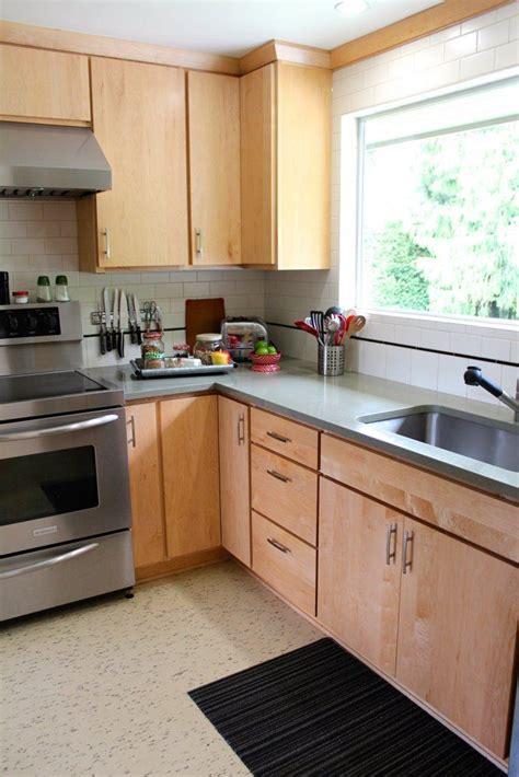 How To Level Kitchen Cabinet Doors by Susan Herb S Handmade Mid Century Split Level Kitchen