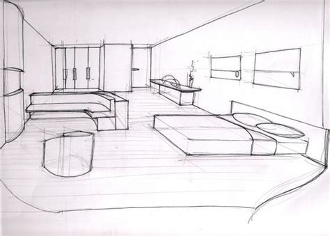 dessin d une chambre book de dimitri roussière portfolio