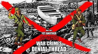 War Crimes Denial Japanese Thread Another Int