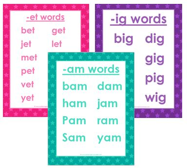 grade level worksheets  images cvc words word