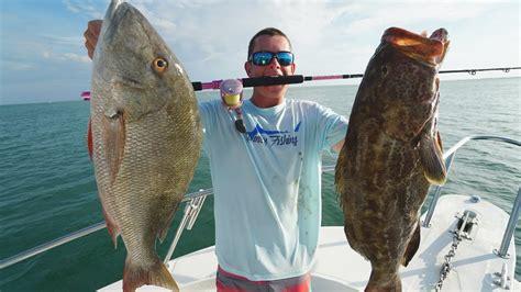 snapper mutton catch grouper cook clean