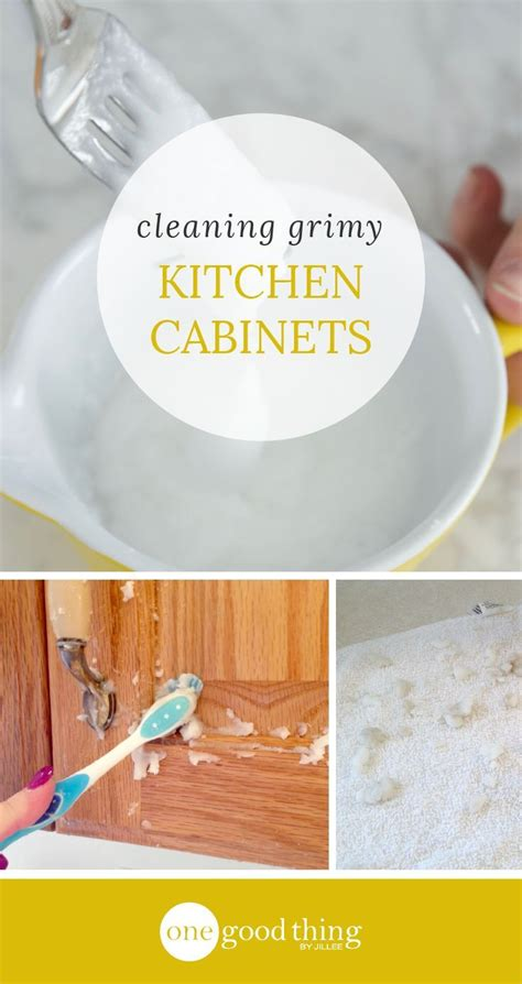 how to clean grime kitchen cabinets 1018 best tips cleaning images on cleaning 9338