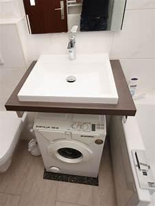 Waschmaschine Unter Waschbecken : waschmaschine unter waschtisch wohn design ~ Watch28wear.com Haus und Dekorationen