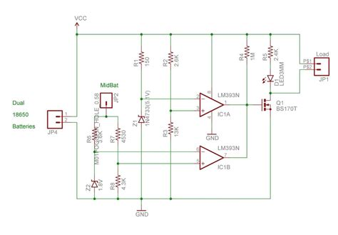 Lithium Ion Battery Charger Circuit Schematic Circuits