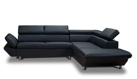 cdiscount canape cdiscount canapé d angle noir et blanc