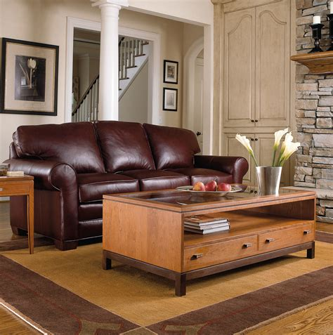 stickley furniture leather sofas stickley leather sofa living room leather furniture thesofa