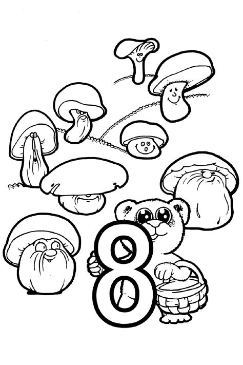 Coloring With Numbers by Numbers Coloring Pages For Printable For Free