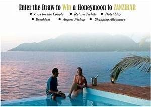 brides of 2016 win a free honeymoon to zanzibar family With win a free honeymoon