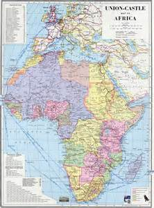 Africa Map 1960