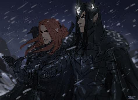 Mairon And Melkor By M0rket On Deviantart