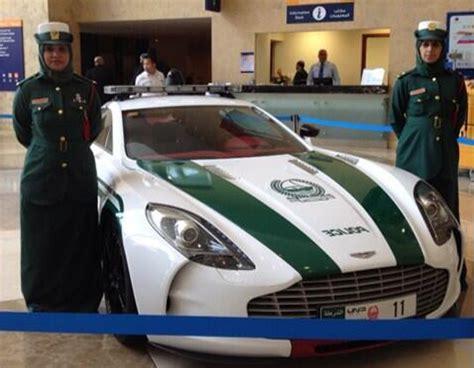 dubai police enlist aston martin   supercar
