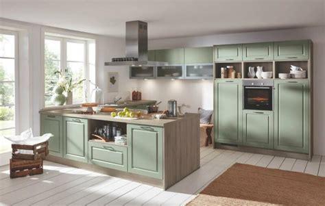 Küche U Form Landhaus by Landhaus K 252 Che Einbauk 252 Che Lack Salbei Seidenmatt U Form