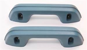 Blue Door Panel Armrests Arm Rest Door Pulls Set 75