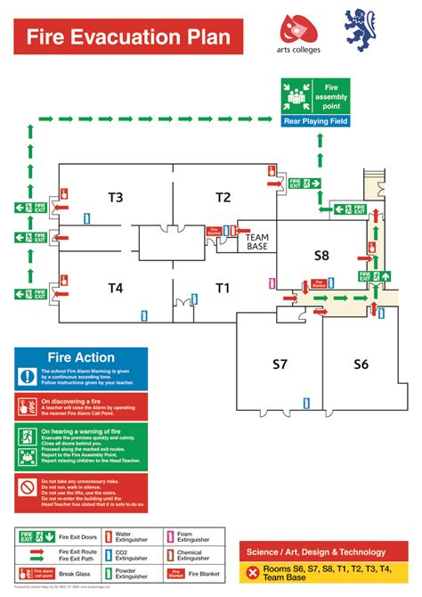 Fire Evacuation Plans, Fire Escape Plans And Fire Assembly