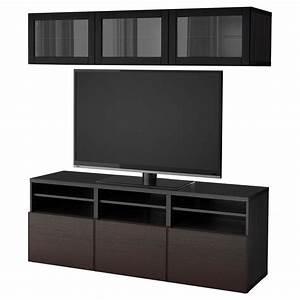 Tv Schrank Glas : besto tv schrank kombiniert glast ren schwarz braun inviken sindwick schwarz braunes ~ Yasmunasinghe.com Haus und Dekorationen