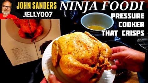ninja fryer chicken air foodi whole foodie cooker pressure crisper demo electric
