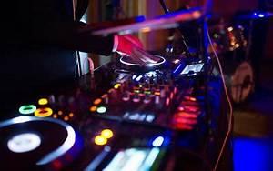 تحميل خلفيات DJ ديسكو DJ console الموسيقيين أضواء