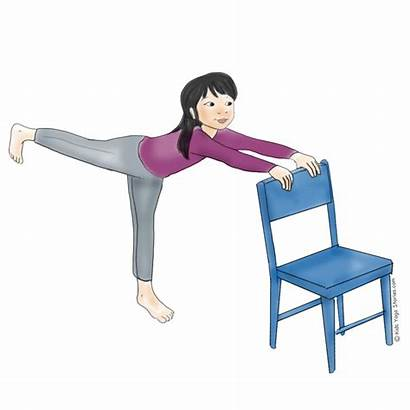 Yoga Chair Poses Using Pose Warrior Winter