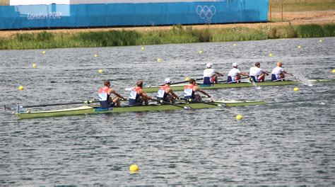 Bow And Stroke Side Of A Boat by To Play Rowing Mobsea