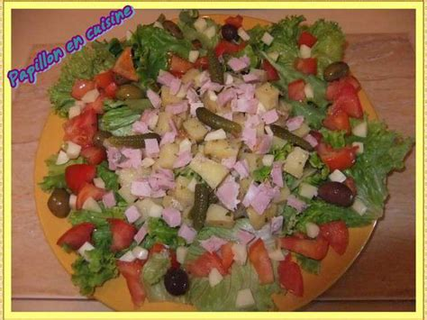 salade verte cuite recette cuisine recettes de salade composée et jambon