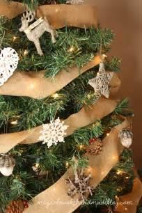 rustic christmas tree ornaments myideasbedroom com