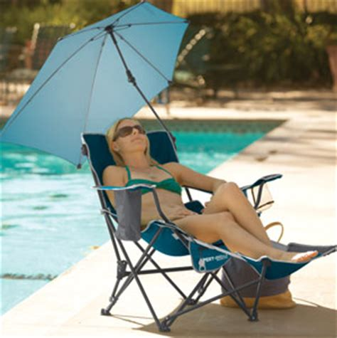sport brella recliner chair firebrick sport brella recliner