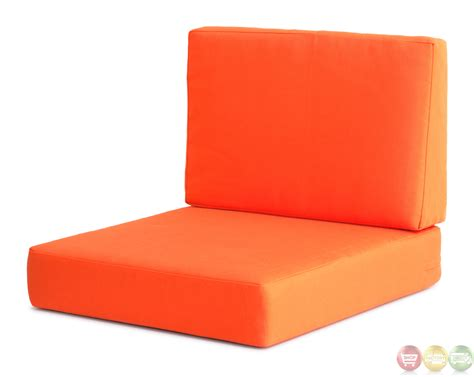 Cosmopolitan Orange Arm Chair Cushions Zuo Modern 701841