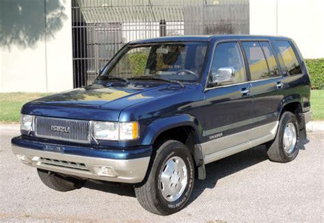 old car repair manuals 1994 isuzu trooper regenerative braking isuzu trooper suv 1994 blue for sale jacdh58w0r7905423 california original 1994 isuzu trooper