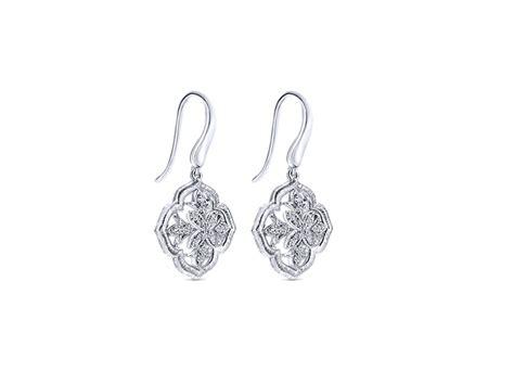 Sterling Silver Diamond Earrings - Forge Jewelry Works