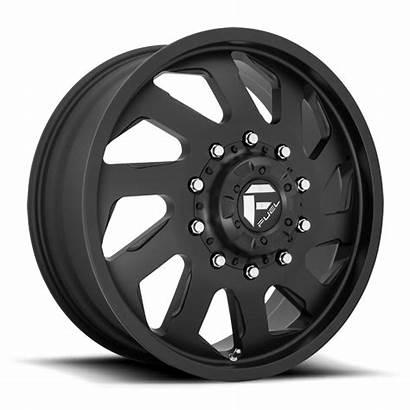 Lug Wheels Dually Fuel Matte Wheel Chrome